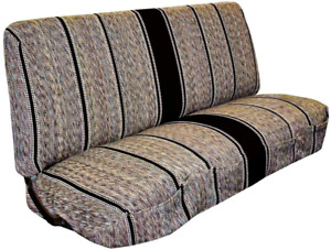 Truck Full Size Bench Seat Cover Baja Saddle Blanket Fits Ford Chevrolet New