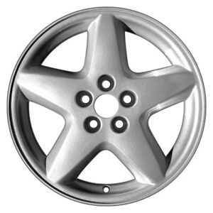 For Chevy Cavalier 95 99 5 slot Silver 16x6 Alloy Factory Wheel Remanufactured