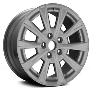 For Buick Lucerne 09 11 Alloy Factory Wheel 10 I Spoke Silver 17x7 Alloy Factory