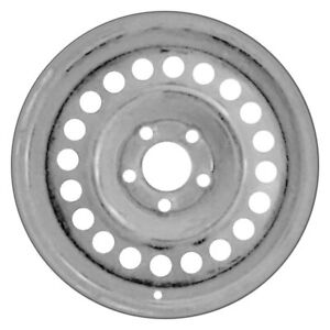 For Chevy Cavalier 92 05 20 hole Silver 14x6 Steel Factory Wheel Remanufactured