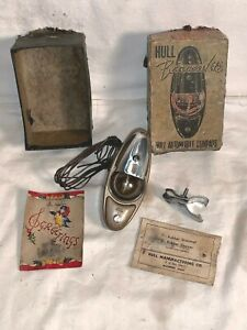 Vintage Hull Beaconlite Auto Car Truck Compass New Old Stock Box Light Works