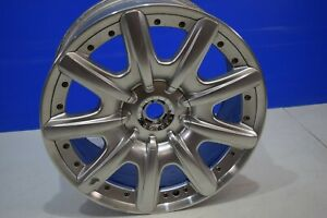 19 Bentley Continental 2004 2009 Oem Wheel Rim 3w0601025k 17087