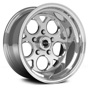Vision 561 Sport Mag Wheels 15x8 0 5x120 65 83 1 Polished Rims Set Of 4