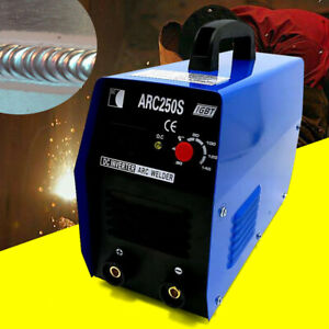 Electric 250amp Stick Welder Mma Arc Igbt Dc Inverter Welding Machine Arc 250s