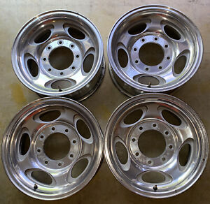 Ford Superduty Excursion Oem Aluminum Wheels 1999 2004
