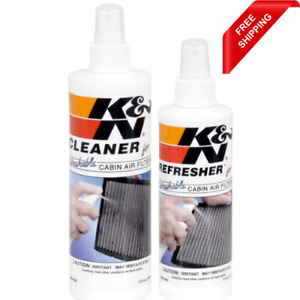 K N Cabin Air Filter Cleaning Kit Spray Bottle Filter Cleaner And Service Frees