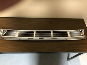 1955 1956 1957 1958 1959 Chevy Gmc Pickup Truck Chrome Cowl Vent Grille