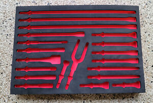 Snap On Tools Air Hammer Bit Foam Insert Toolbox Organizer