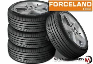 4 Forceland Kunimoto F22 245 35r20 95w Xl Uhp Ultra high Performance Tires