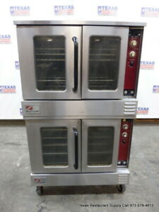 Southbend Gs 25sc Gas Double Stack Convection Oven With Casters