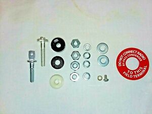 Oldsmobile Generator Repair Rebuild Kit Terminal Posts Warning Tag Delco Remy