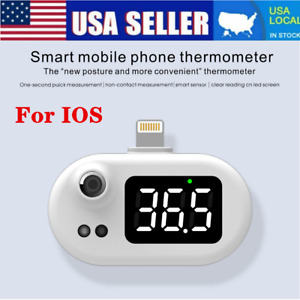 Mini Usb Smart Ios Phone Thermometer Non contact Infrared Temperature Meter Us