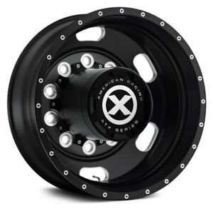 American Racing Atx Satin Black W Milled Accents 24 5x8 25 Alloy Wheel