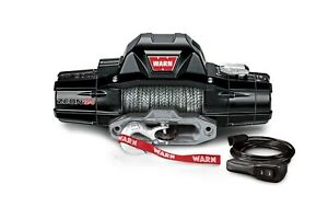 Warn Zeon 12s Recovery Winch 12vdc 80ft Synthetic Rope Max 12000 Lbs 95950