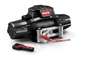 Warn Zeon 12 Platinum Recovery Winch 12vdc 80ft Steel Rope Max 12000 Lbs 92820
