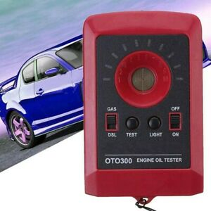 Digital Led Car Oil Quality Tester Motor Engine Diesel Gas Accessories Detector