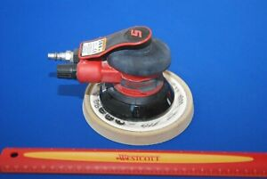Snap on Tools Red 6 Orbital Sander With 3 16 Pattern Pso4625