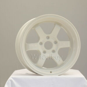 4 Rota Wheel Grid V 16x8 5x114 3 20 White Last Set