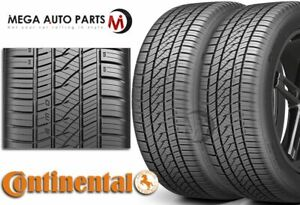 2 Continental Purecontact Ls 245 45r18 100v Xl All Season Grand Touring A s Tire