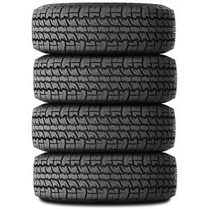 4 Kenda Klever A t Lt 245 75r16 E 10 Ply At All Terrain Tires