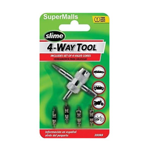 Slime 4 way Tool With 4 Valve Core