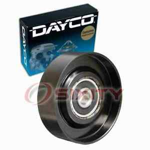 Dayco Drive Belt Idler Pulley For 1995 2008 Nissan Maxima Engine Bearing Lt