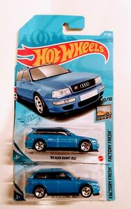 2021 Hot Wheels H Case 94 Audi Avant Rs2 157 Factory Fresh Series Lot Of 2