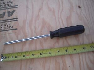 Snap On Screwdriver Phillips 3 Black Octo Grip Sdp63s Good Condition