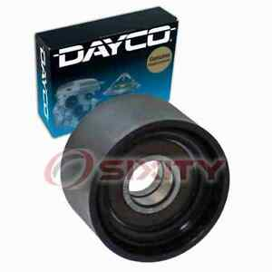 Dayco Smooth Pulley Drive Belt Idler Pulley For 2009 Mercedes benz Cl63 Amg Mt
