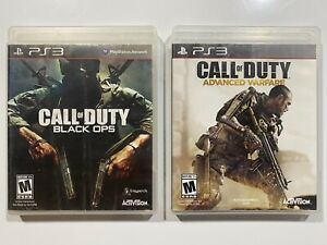 Call of Duty: Black Ops and Call Of Duty: Advanced Warfare Sony PlayStation 3 $9.99
