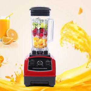 Commercial Blender Mixer Food Juicer Fruit Mixer Fruit Juice Machine 1500w 2l Us