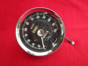 Jaeger Speedometer Dash Gauge Sn 6125 For 1962 1967 Mgb Tested And Works
