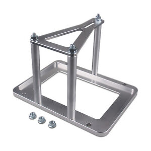 Universal Billet Battery Tray Hold Down Relocation Box Racing Mount Bottom Tray