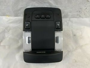 2008 Cadillac Dts Overhead Console Map Dome Lights Homelink