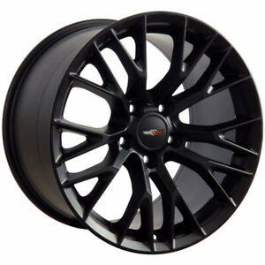 Matte Black Wheel 17x9 5 For 1993 2002 Chevy Camaro Owh2722