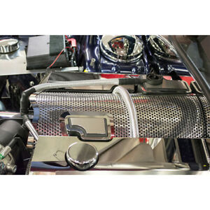 Perforated Plenum Cover For 2011 2019 Challenger Charger 300 Grand Cherokee Srt8