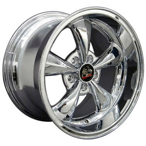 Chrome Wheel 17x10 5 For 1994 2004 Ford Mustang Owh0752