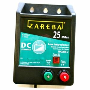 Edc25m z 25 mile Battery Operated Low Impedance Electric Fence Charger