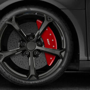 Mgp Set Of 4 Red Caliper Covers For 2017 2019 Mercedes benz C43 Amg Base
