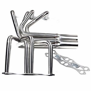 For Small Block Chevy Sbc T Roadster Sprint Roadster Headers New