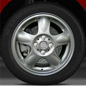 15x5 5 Factory Wheel bright Metallic Silver For 2007 2012 Mini Cooper