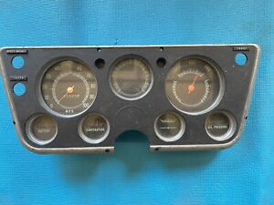 1967 1972 Chevy Chevrolet Pick Up Truck Instrument Gauge Cluster Dash Oem