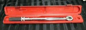 Mac Tools Twv150 Micrometer Torque Wrench 30 150ft Lbs With 1 2 Drive
