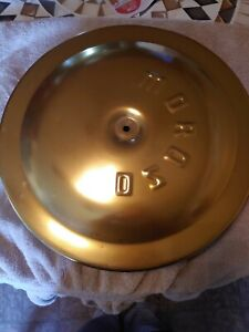 Moroso Vintage Gold 14 Air Cleaner