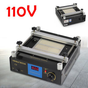 853a Soldering Infrared Rework Station 600 W Plate For Preheating Circuit Board
