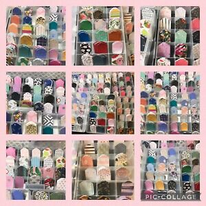 40 Assorted Earring Cards Tags Earring Displays Aprroximately 1 5x2 3 16