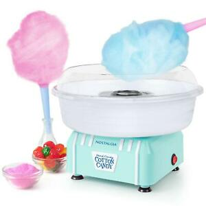 Cotton Candy Machine Maker Electric Sugar Snow Mini Traditional Flossing Sweet