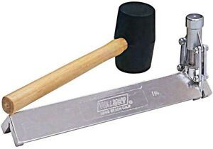 Drywall Hammer 1 1 4 In Corner Bead Tool Crimping Steel With Rubber Mallet