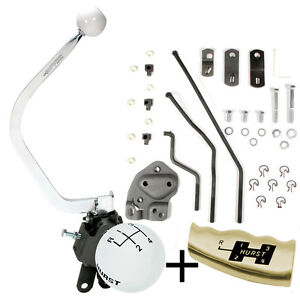 Hurst 4 Speed Shifter Install Kit Full Size Chevy 1955 1957 Early Muncie 451