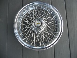 Oem 1986 1996 Chevy Caprice Impala 15 Wire Spoke Wheel Cover Hubcap Factory